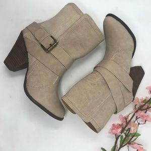 Mojo Moxy Women's Hudson Boot Chalk Western Style